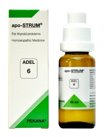 Adel6 apo strum homeopathy treatment for thyroid hypo hyperthyroidism