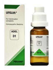 ADEL 31 UPELVA homeopathic drops for menstruation problems