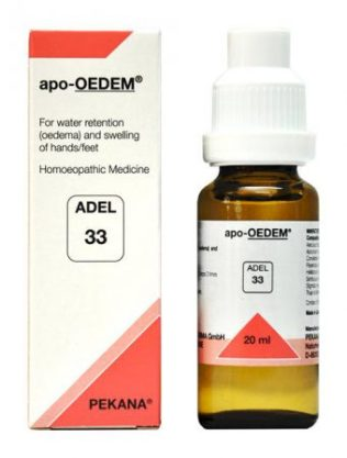 ADEL 33 apo-OEDEM for swelling of hands/feet, water retention (Oedema)