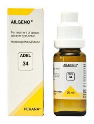 ADEL 34 AILGENO homeopathic medicine for spleen & liver dysfunction