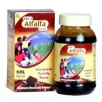 SBL-ALFALFA MALT Energy Stimulant, Health Tonic, Homeopathic Weight gain medicine, appetizer
