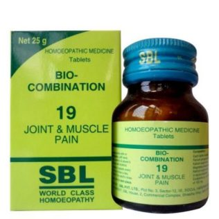 SBL Bio-combination-No-19 for Joint and Muscle Pain