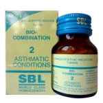 SBL Bio-combination No 2 for Asthmatic Conditions