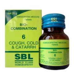 SBL Bio-combination No 6 for Cough, Cold and Catarrh