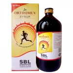 SBL Orthomuv Syrup. Homeopathy for joint Knee and muscle pain