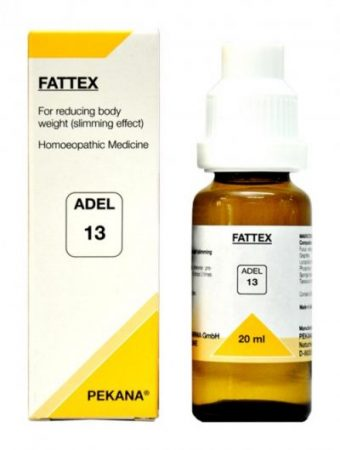 Adel-13-fattex-drops for obesity, weight reduction, body fat control