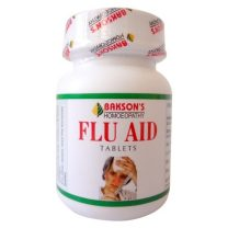 Bakson Flu Aid Tablets for fever coryza & Cough, body pain, weakness