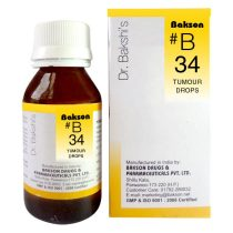 Buy Dr.Bakshi B34 Tumour Homeopathy drops for glandular swellings