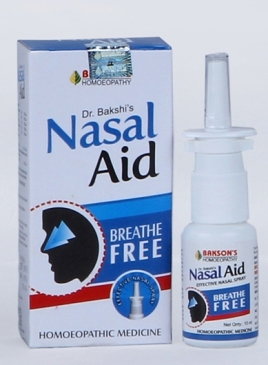 Nasal aid Breathe Free drops for Nasal congestion, Allergy relief