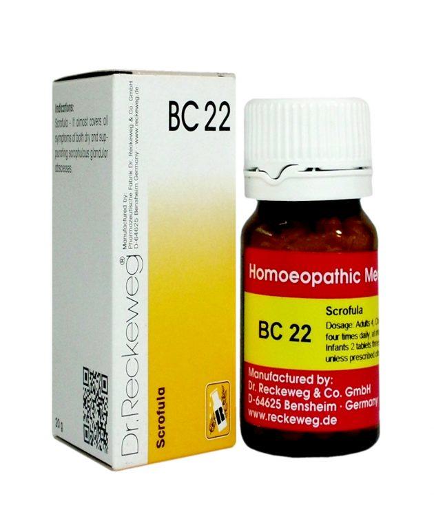 Dr Reckeweg BC22 - Scrofula