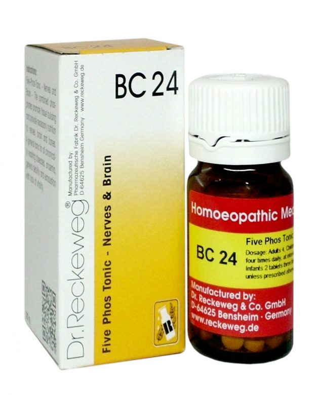 Buy Dr.Reckeweg BC24 Bio Combination Tablets. Five phos