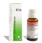Dr. Reckeweg R16 Migraine and neuralgia drops, for headaches of varioustypes, Kelminthiasis, Migraine