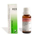 Dr. Reckeweg R23 Eczema drops, Homeopathy medicine for pimples, herpes, rashes, eschar, Acro paraesthesia, Urticaria