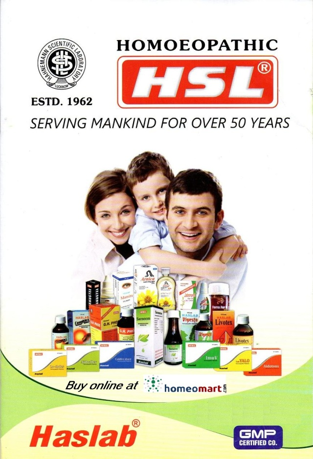 Haslab Homeopathic medicines