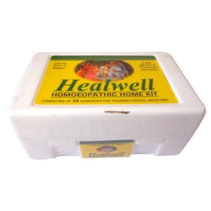 Healwell Homeopathic Home kit, Emergency medicines, first Aid
