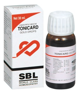 SBL Tonicard Gold drops