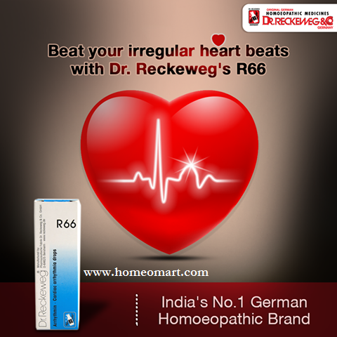 Reckeweg R66 drops for irregular heart beats