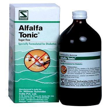 Buy Schwabe Germany Alfalfa Sugar free Health Tonic for ...