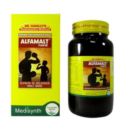 Medisynth Alfamalt forte is a homeopathy medicine for weight gain, helps build body, weight gain formula, increases body weight naturally, body builder tonic