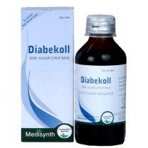 Medisynth Diabekoll Syrup - Blood Sugar Requlator