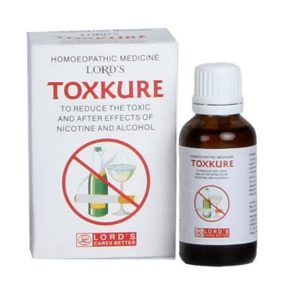 Lords TOXKURE-Homeopathic medicine for Smoking cessation, alcoholism, nicotine addiction, alcohol withdrawal symptoms