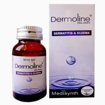 Medisynth Dermoline drops for eczema,dermatitis