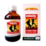 Medisynth Enlacto forte-5 Phos Syrup for all ages
