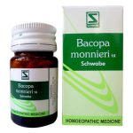 Schwabe Bacopa Monnieri 1X tablets Brain, Nervine Tonic for weak memory, anxiety neurosis,