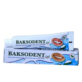 BAKSON Baksodent Gel for healthy teeth & Gums