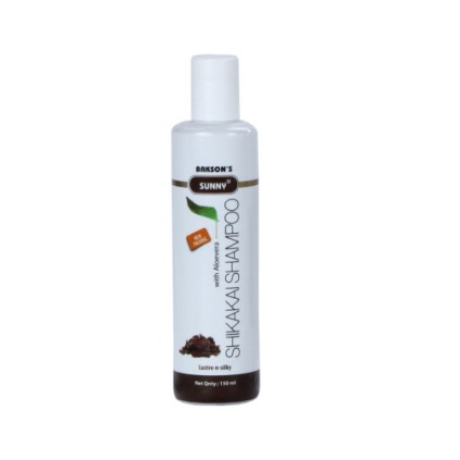 Baksons Sunny Shikakai shampoo with aloevera for dull hair. Buy Online