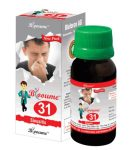 Blooume 31 SINUSAN - Homeopathy medicine for Sinusitis