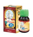 Blooume 35 Constiposan Tablets for Constipation, Dry HArd stools