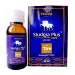 Fourrts Studgra plus Liquid for stud like performance. Homeopathic medicine for Erectile dysfunction (ED), helps increase Sex stamina, Virility booster