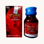 SBL Femin Tablets for Anemic conditions, iron deficiency