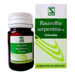Schwabe Rauvolfia Serpentina 1x Tablet, Homeopathy High Blood Pressure medicine