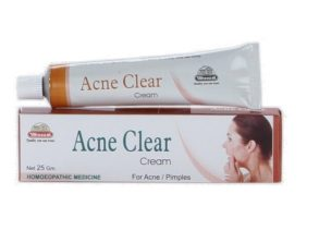 Wheezal Homeopathy Acne Clear Cream for Acne, Pimples