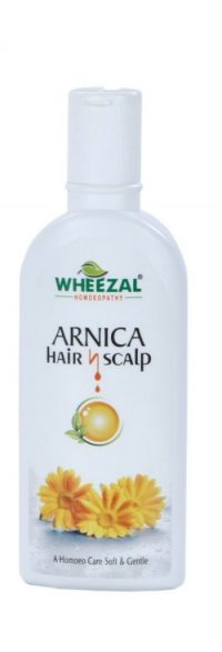 Wheezal Arnica hair n Scalp shampoo for Silky, Soft and Manageable Hair