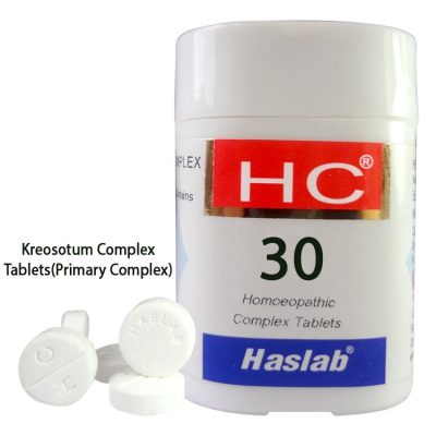 Haslab HC-30 Kreosotum Complex Tablets for Primary Complex