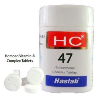 Haslab HC-47 Homoeo Vitamin-B Complex Tablets