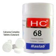 Haslab HC-68 Calcarea Complex Tablets for Cataract