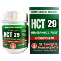 St. George HCT No 29-Hemorrhoids (Piles)