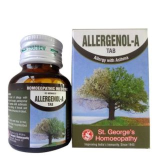 St George Allergenol-A Tab for Allergy with Asthma