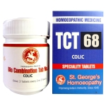 St George TCT 68 Homeopathic Tissue Complex Tablets for Colic