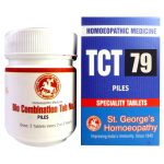 St George TCT 79 Homeopathic Tissue Complex Tablets for Piles