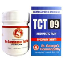 St George TCT 9 Homeopathic Tissue Complex Tablets for Rheumatic Pain