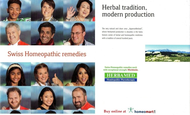 Herbamed Homeopathic Phytotherapy. Switzerland homeopathy medicines