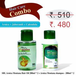 Hair Care Combo - Best Hair Oil and Shampoo for Hair fall treatment