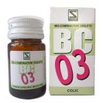 Schwabe Bioplasgen Biocombination No3 Tablets for Colic, Spasmodic pain
