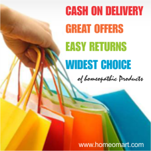 Online offers, deals, discounts on Homeopathy medicines. Get great bargains on homeopathy products on online homeopathy medicine store
