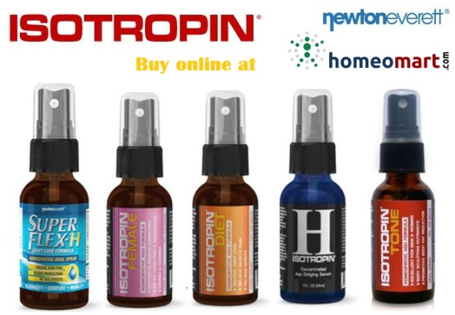 Isotropin range of Homeopathy medicines from Newton everett. Buy online